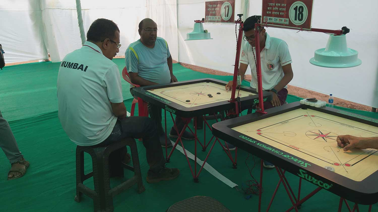 Maharashtra State Ranking Carrom Tournament 2018-2019, Vanavadi, Pune
