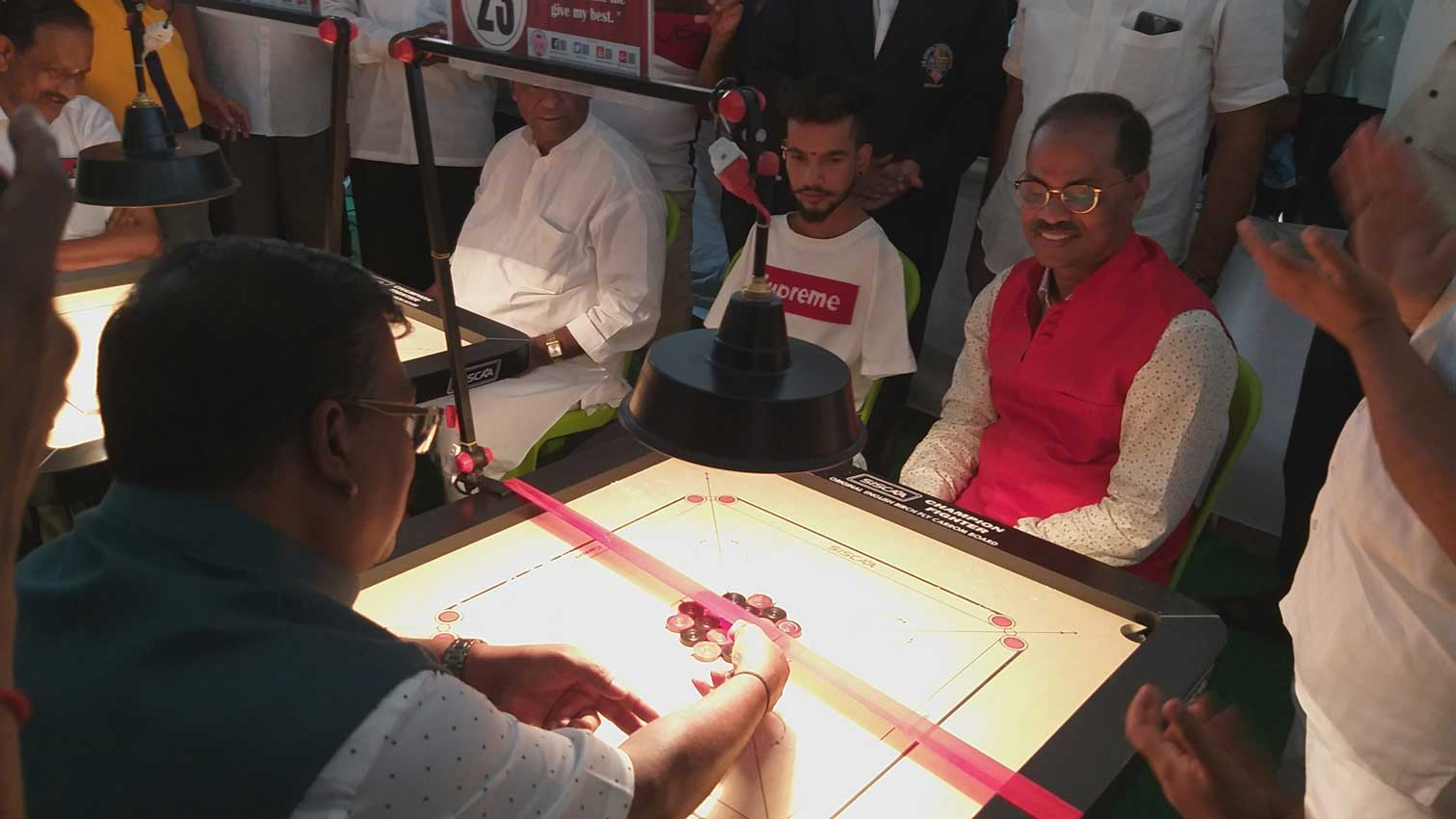 5th Shree Dattaraj Charitable Trust, Nrusinhawadi Maharashtra State Ranking Carrom Tournament 2019-20