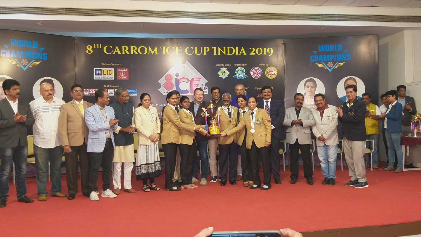 8th CARROM ICF CUP 2019