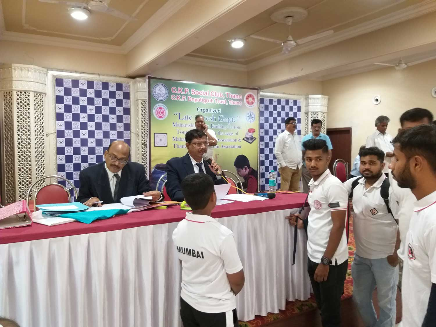 3rd Mulund Gymkhana State Ranking Carrom Tournament 2019-20