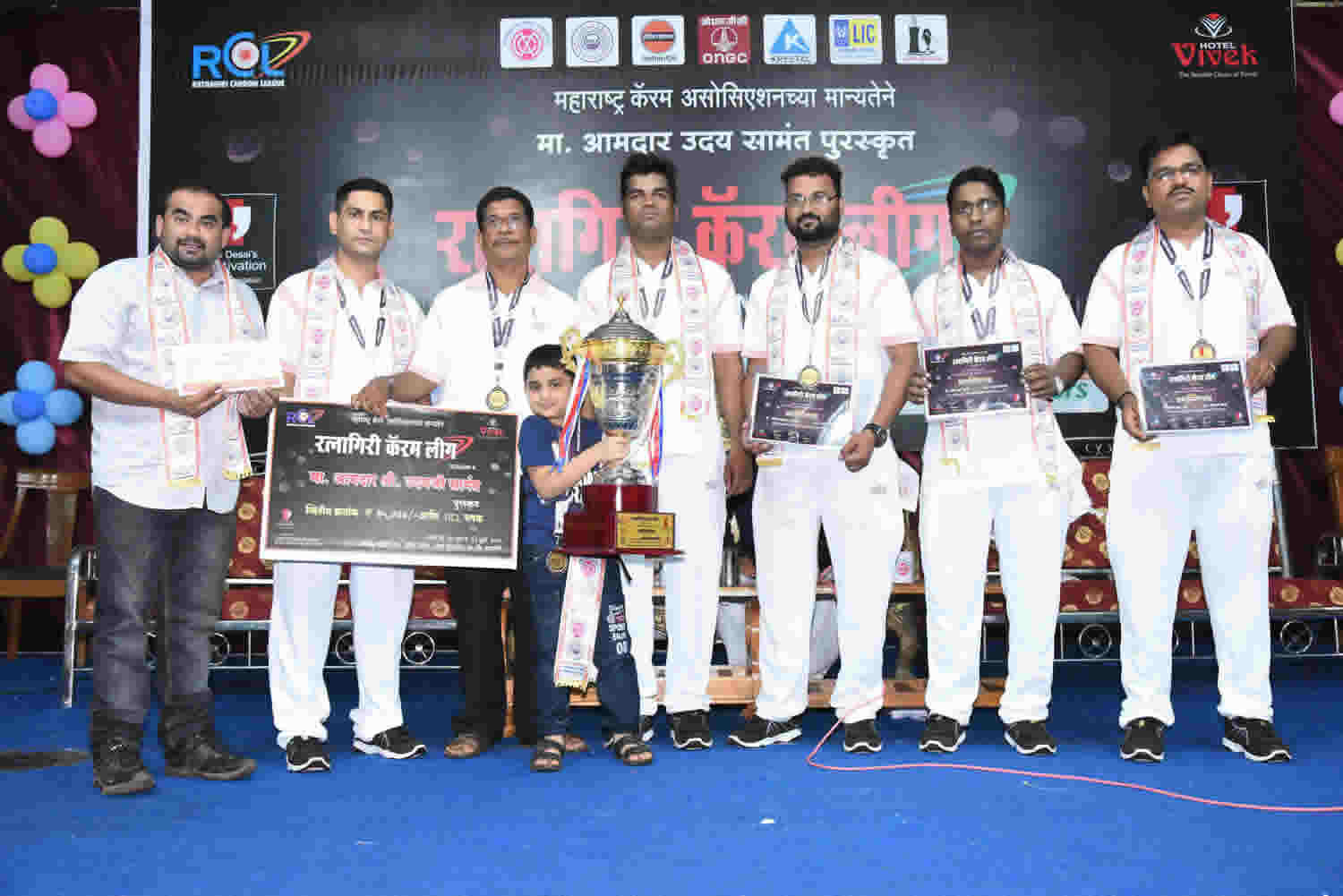 RATNAGIRI CARROM LEAGUE 2018: SEASON-4th