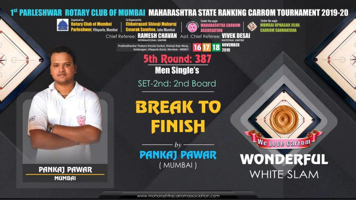 Wonderful White Slam by Pankaj Pawar (Mumbai)