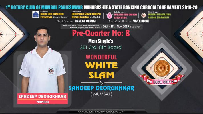 Wonderful White Slam by Sandeep Deorukhkar (Mumbai)