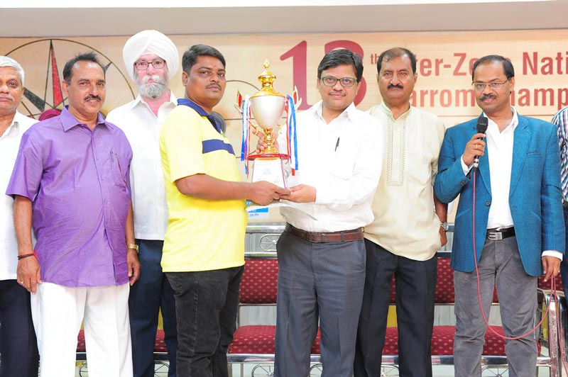 13th Inter Zone National Carrom Championship 2016