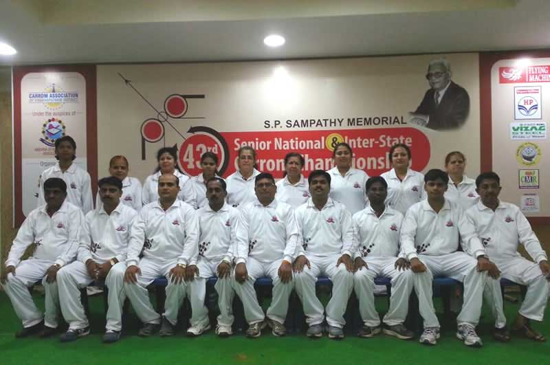 43rd Senior National & Inter State Carrom Championship