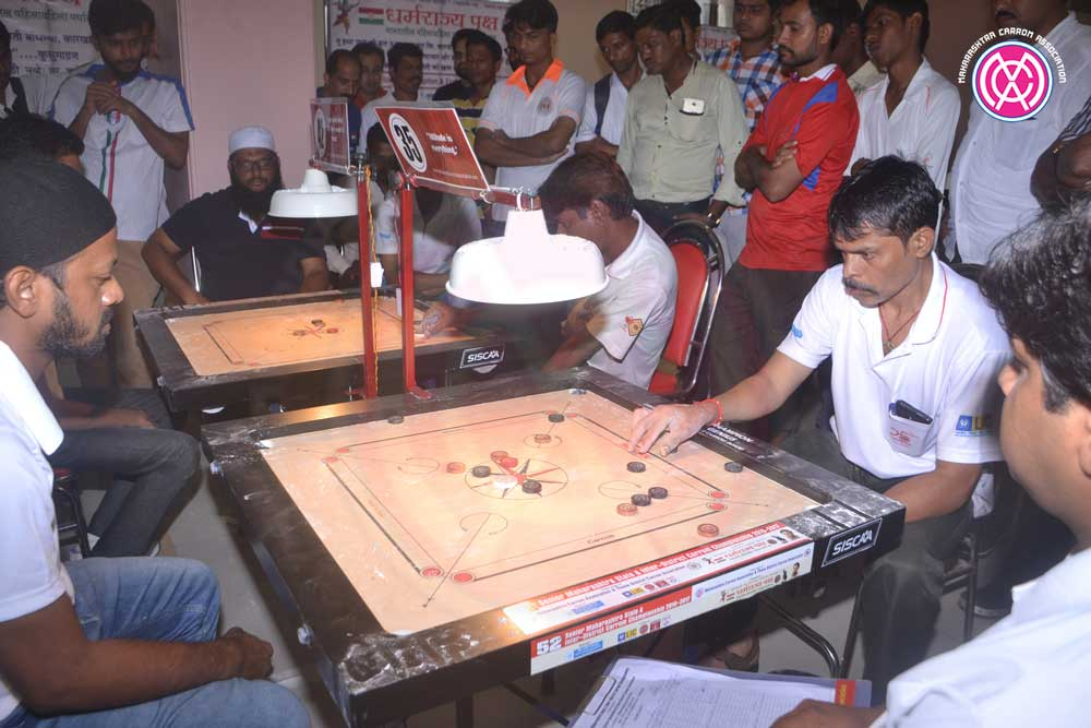 52nd Senior Maharashtra State & Inter District Carrom Championship 2016