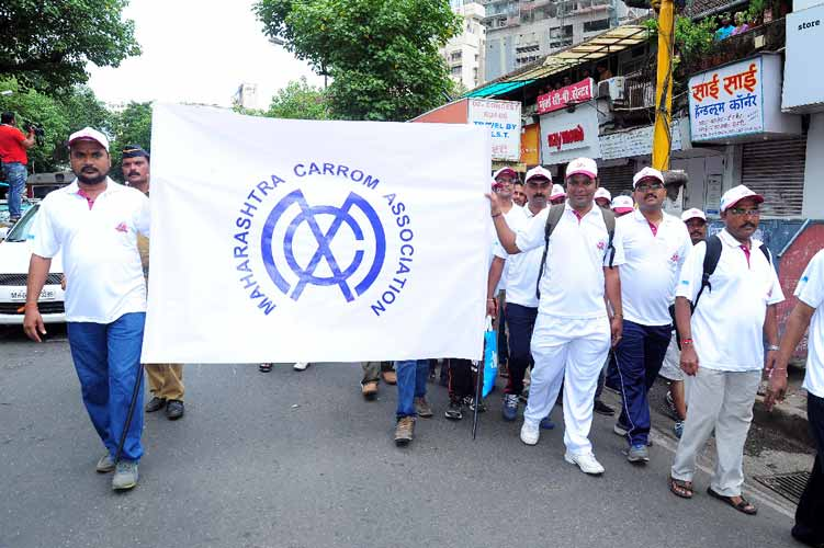 Run for Carrom : Diamond Jubilee Carrom Rally